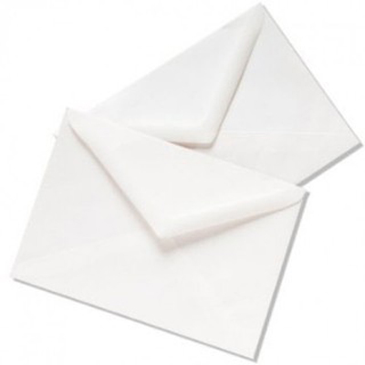 Envelope White 4*9 115*225 Autdex 55219 (pkt/50pc)