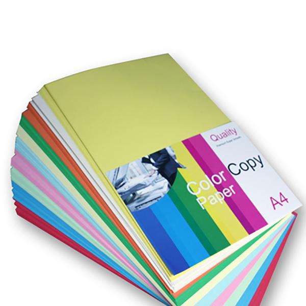Colour Paper 80g A4 Assoted (Pkt/250sh)