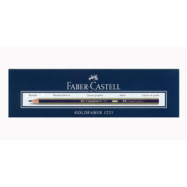 Lead Pencil 3B Faber Castell FCI12213B (pkt/12pc)