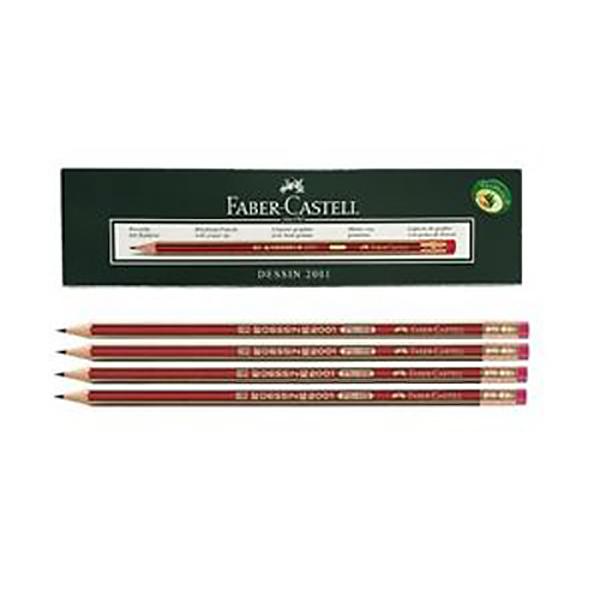 Dessin Black Lead Pencil Faber Castell FCI2001HB (pkt/12pc)