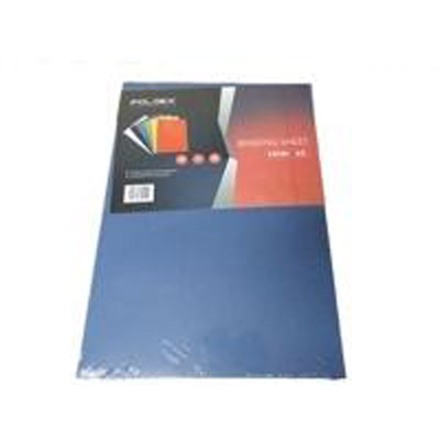 Binding Sheet A3 230g Blue Foldex FX101A3 (pkt)