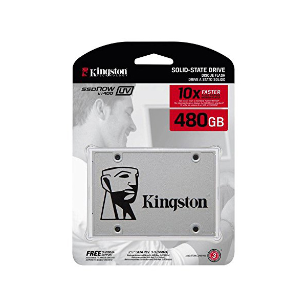 Kingston 480GB SSDNow UV400 Series (Single Drive)