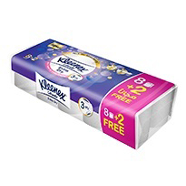 Kleenex Bath tissue extra dry 8+2 (pc)