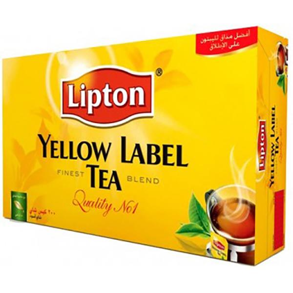 Lipton Yellow Label Tea Bag 200s (pc)