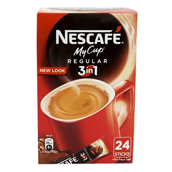 Nescafe MYCUP 3in1 24*20GM(pack/24pc)