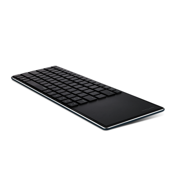 RAPOO KEYBOARD ULTRA SLIM BLUETOOTH WITH TOUCHPAD E6700- BLACK