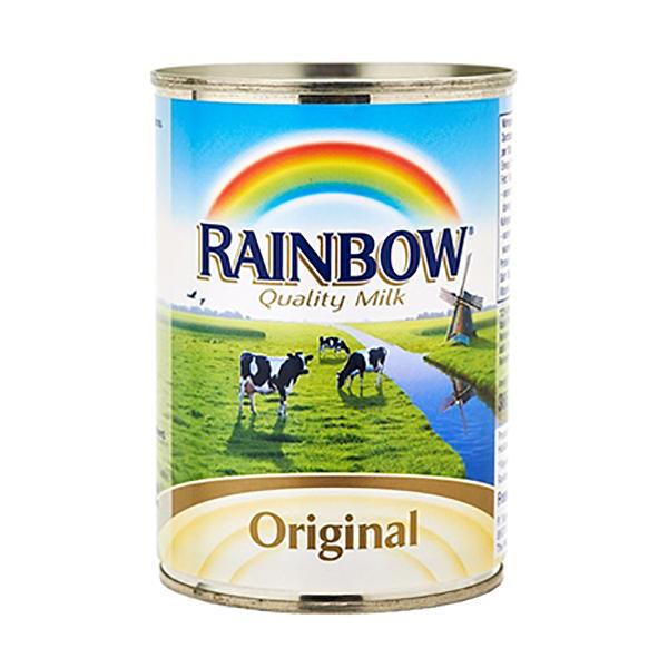 Rainbow Orig Evapurated Milk 385ML(pc)
