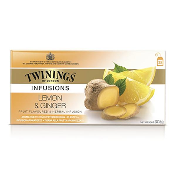 Twinings Infusions Lemon&Ginger Tea 25b (pc)